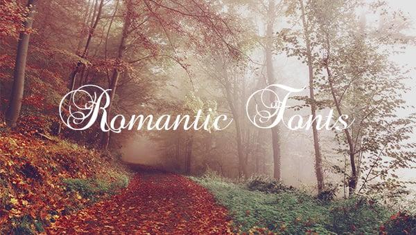romanticfont