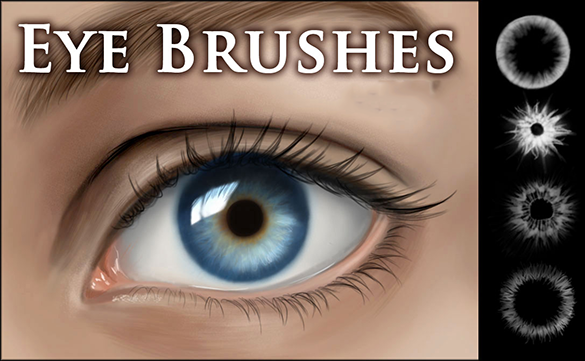 amazing free eye photoshop brushes for you