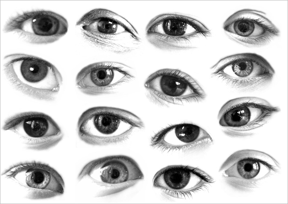 31 beautiful eyes photoshop brushes free download
