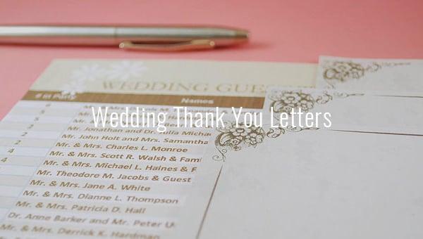 weddingthankyouletters