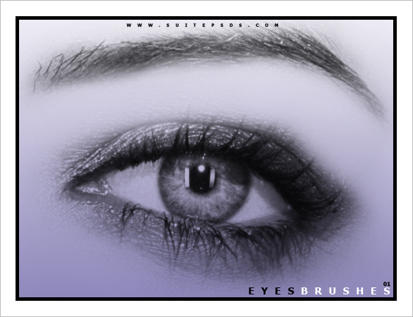 16 eye photoshop brushes free download