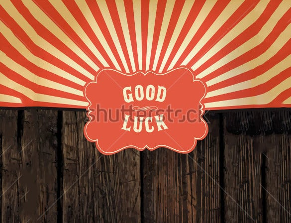 good luck farewell card template download