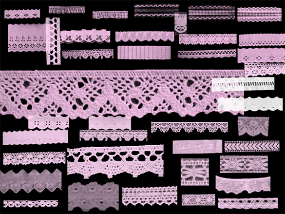 114 free abstract lace photoshop brushes