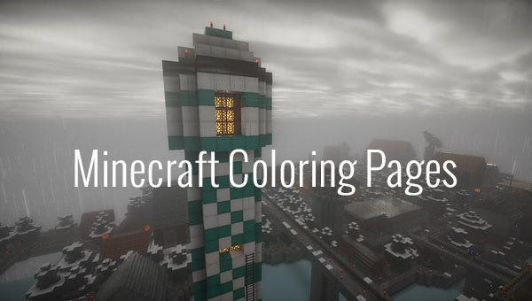 minecraftcoloringpages