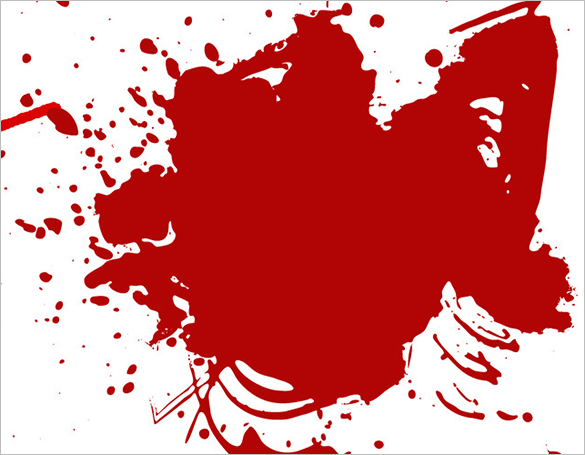 20 premium blood splatter photoshop brushes