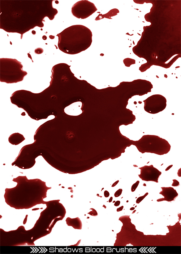 27 free blood splatter photoshop brushes