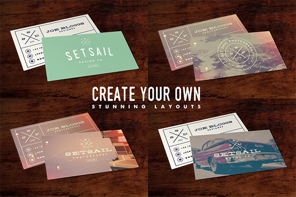 premium vintage staples business cards