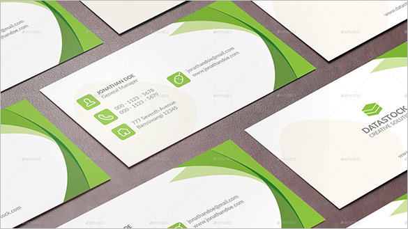 creative premium staples business card