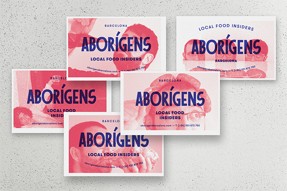 aborigens free staples business cards