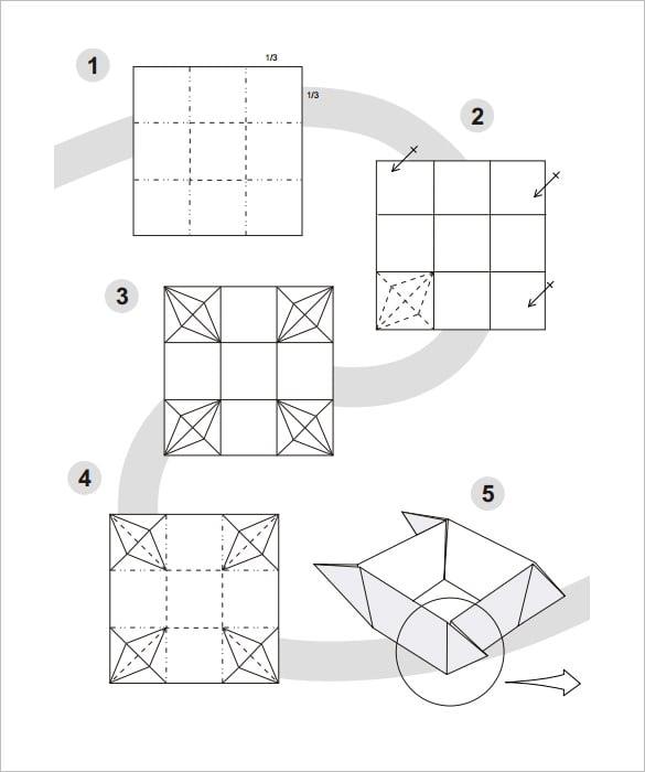 make paper box template