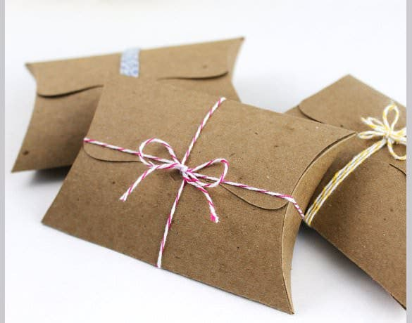 how to make a pillow box