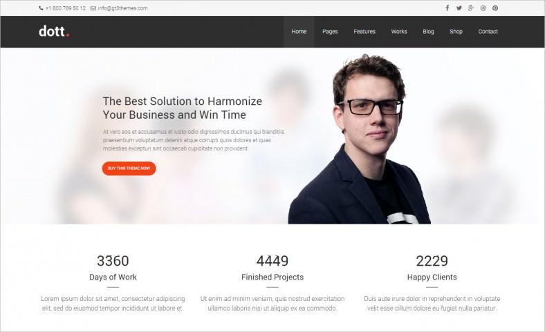 dott business wordpress theme 788x481