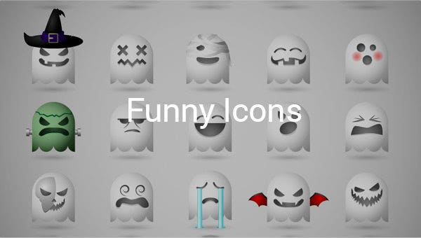 funny icons