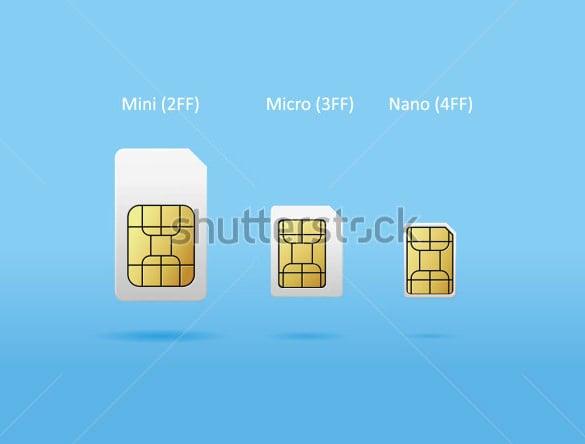 Micro Sim Card Template - 12+ Free Printable Sample ...