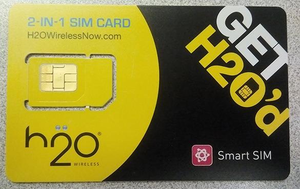 h2o micro sim card template downlaod