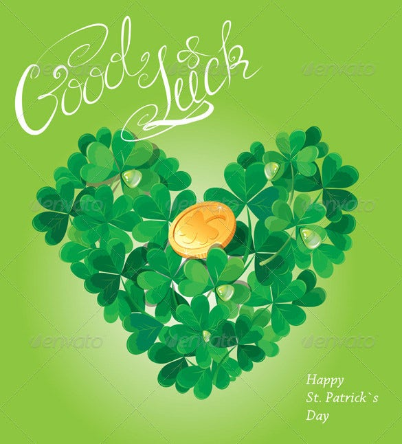 Superior If You Want To Convey Good Luck Card Messages To Your Loved Ones During  Holidays, You Can Surely Opt For This Good Luck Card Template In Vector  Format. Regard To Good Luck Card Template