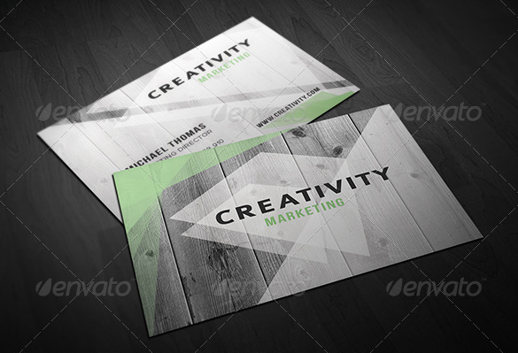 amazing premium wooden business card for you
