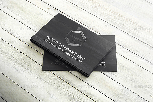 premium dynamic wooden business card download