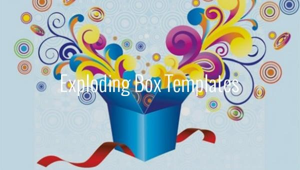exploding box templates