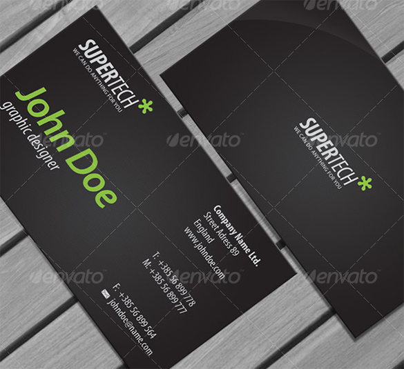 outstanding black business card premium download