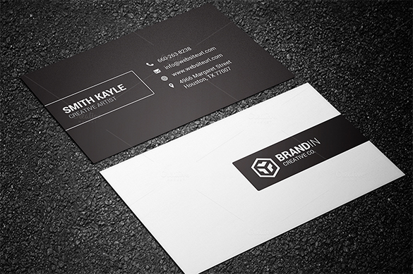 Black business cards doritrcatodos black business cards colourmoves