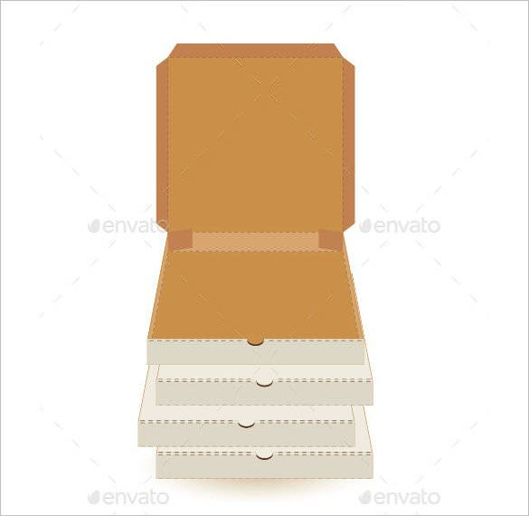 Pizza box template and svg | pizza boxes, pizza box crafts, box.