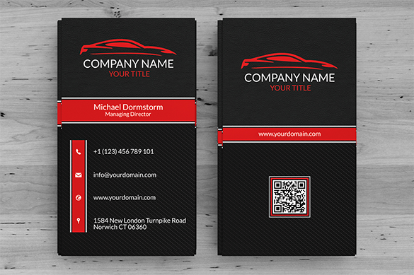 extraordinary premium black business card