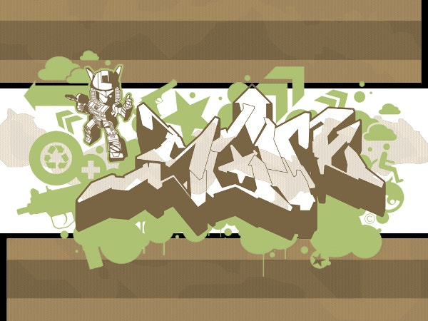 free creative graffiti background for you