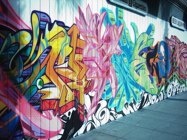 extravagent graffiti background free download