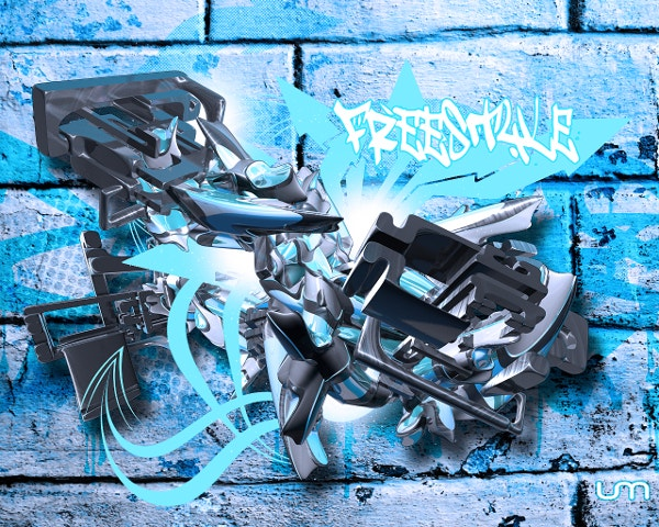 fantastic graffiti background free download