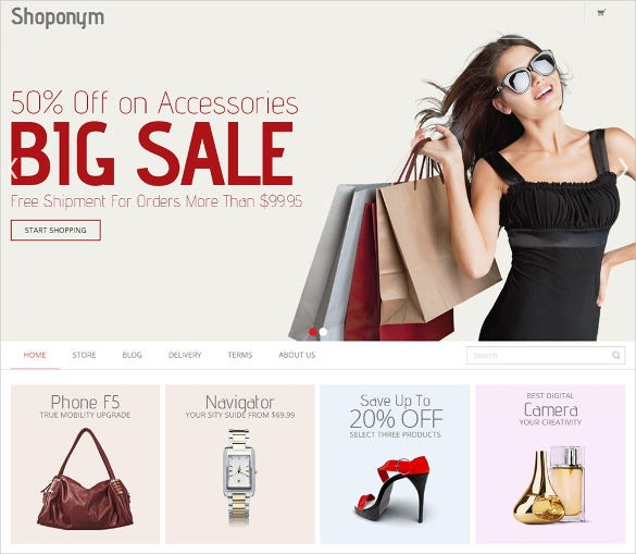 free fashion store prestashop theme download