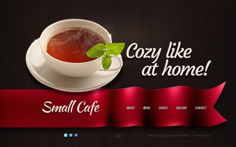 cafe flash template 788x492