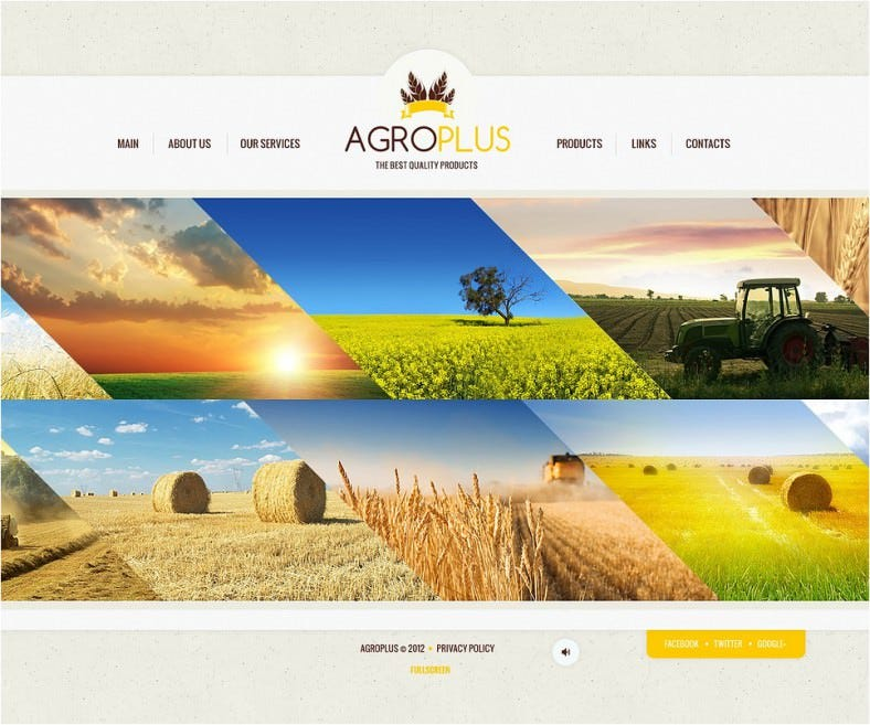 agriculture flash template 788x657