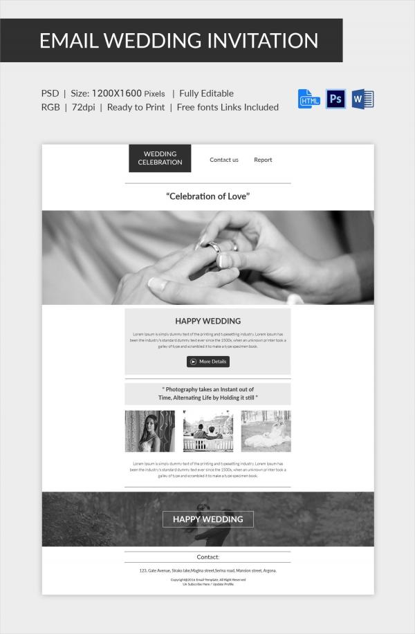 wedding invitation template 71 free printable word pdf psd indesign format download. Black Bedroom Furniture Sets. Home Design Ideas