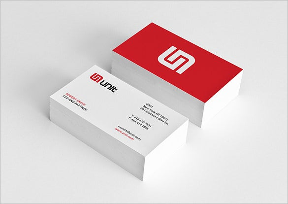 21+ Red Business Cards – Free Printable PSD, EPS, Word, PDF Format ...