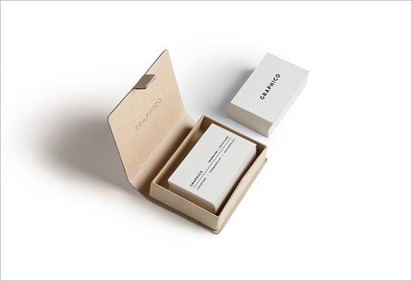 30 personal white business card for you
