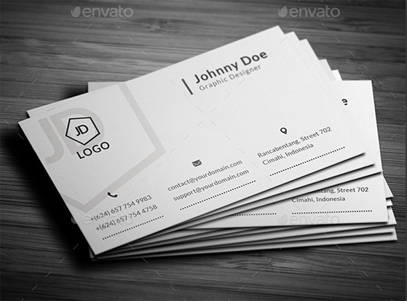 stunning white business card premium download