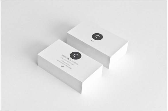 extraordinary premium white business card