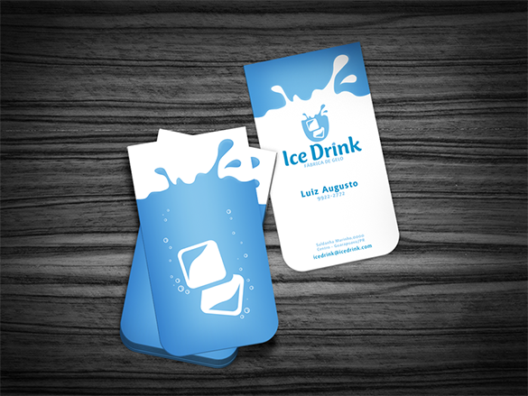 fabulous free blue business card for you