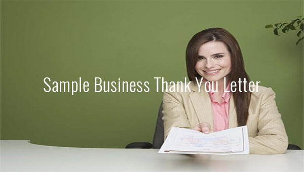 samplebusinessthankyouletters