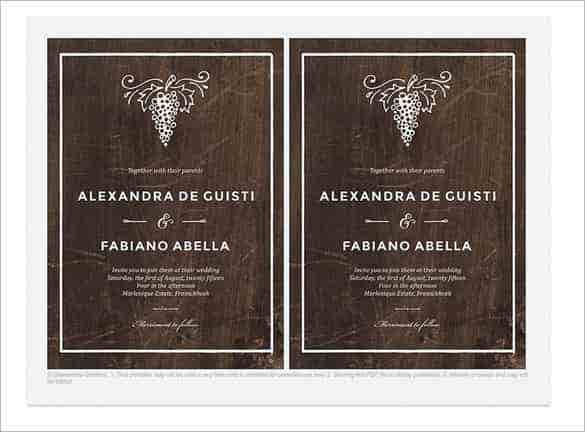 winery wedding invitation template psd file min