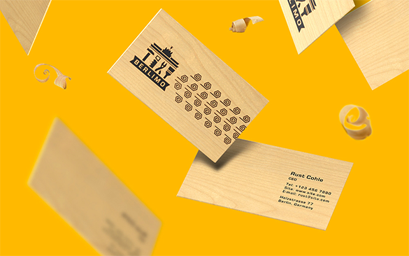 ceo free yellow business card download