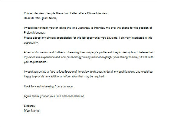 Thank you letter after job interview 12 free sample example a dictatorial and ungrateful supervisor tends to work forcefully because he is not respected you can use this sample template to send a thank expocarfo