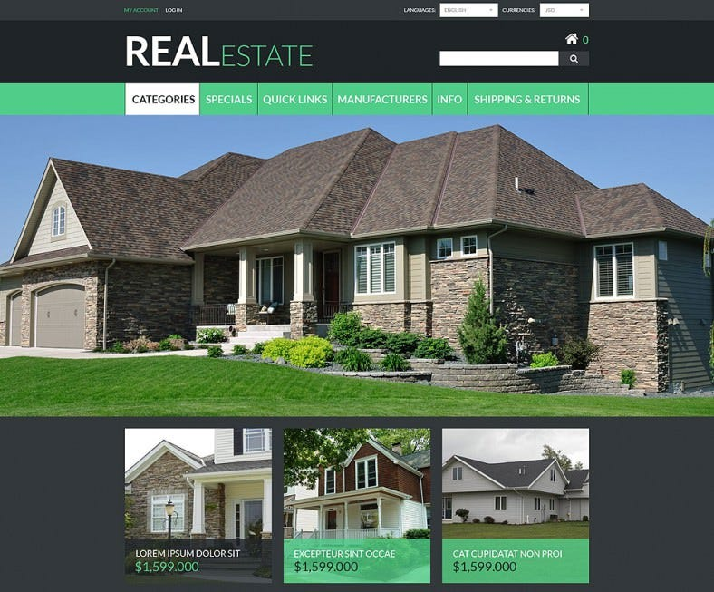 real estate zencart template 788x653