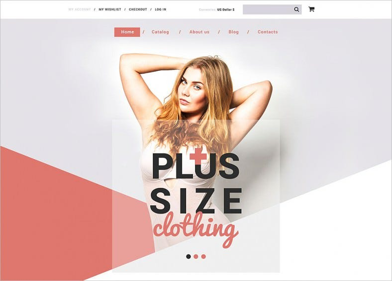 plus size clothing shopify theme 788x564