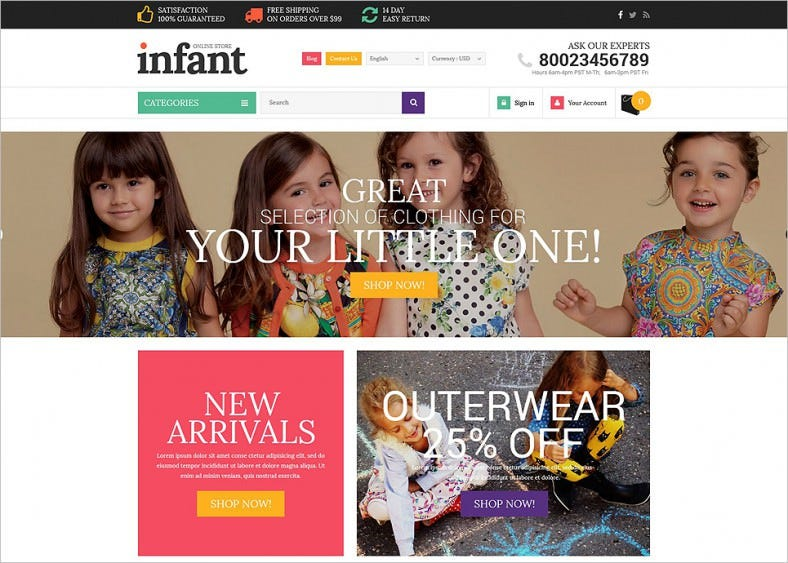 baby store responsive shopify theme 788x563