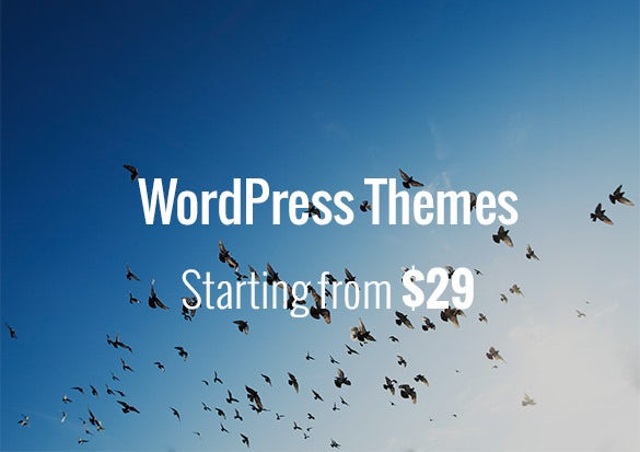 WordPress-Themes-Starting-from-$29