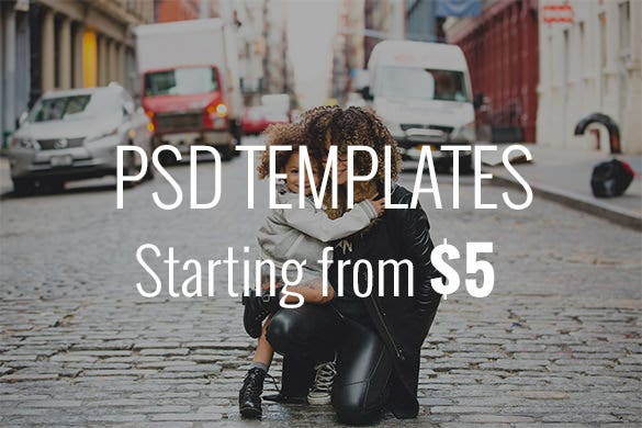 psd templates starting from 5