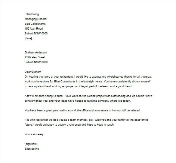 Thank You Letter To Employee – 10+ Free Sample, Example Format