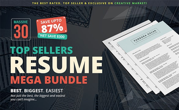 Exclusively-87%-Off-on-Resume-Mega-Bundle